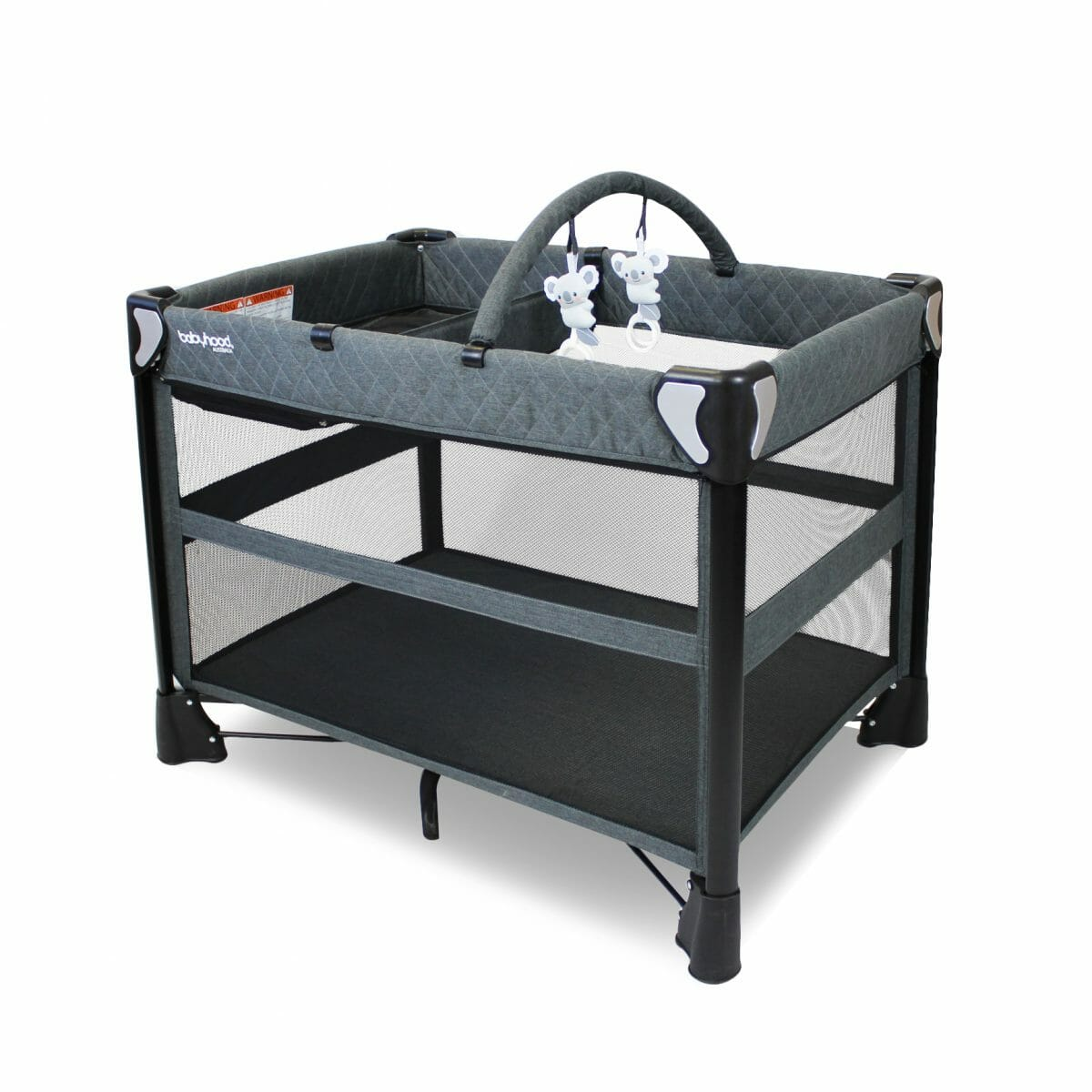 Babyhood Uno 4 In 1 Portacot With Change Table And Toybar