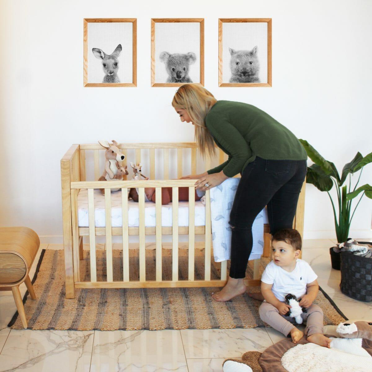 Babyhood Lulu Cot Lifestyle 3