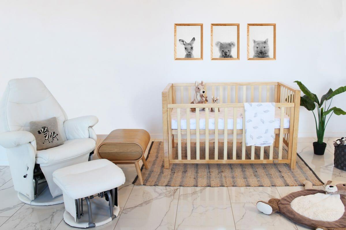 Babyhood Lulu Cot Lifestyle Nursery
