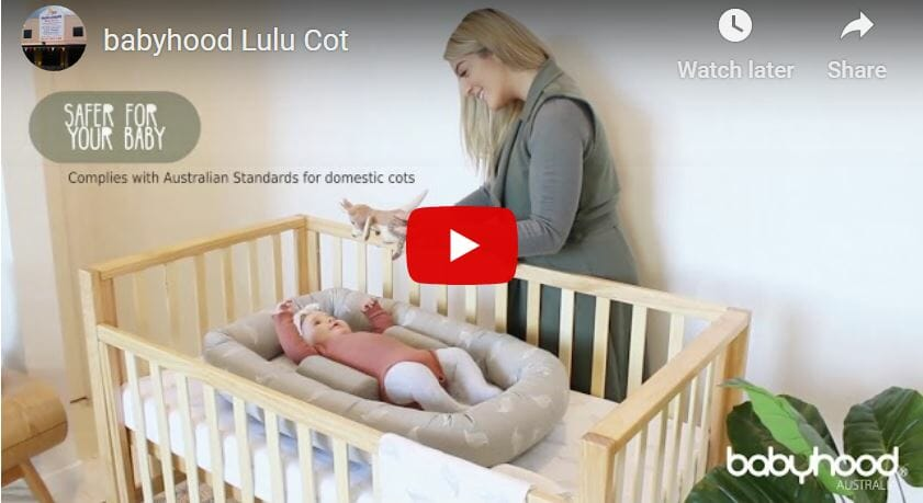 Babyhood Lulu Cot Video