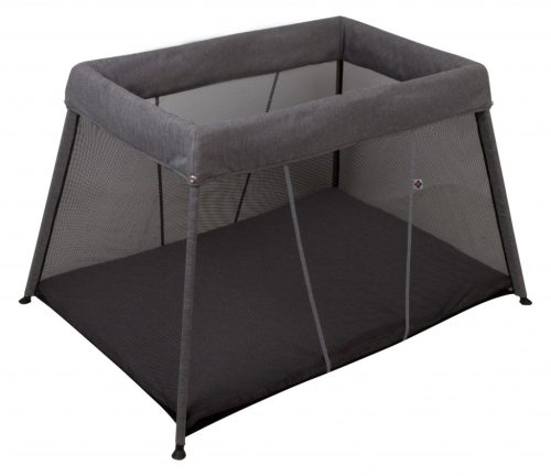 Bebe Care In & Out Travel Cot Black Silver (cot Only)
