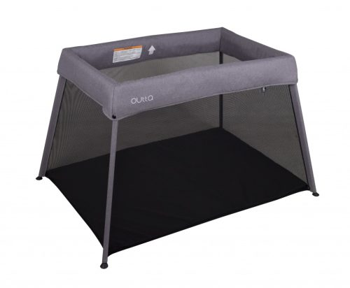 Childcare Outta Travel Cot Moon Mist