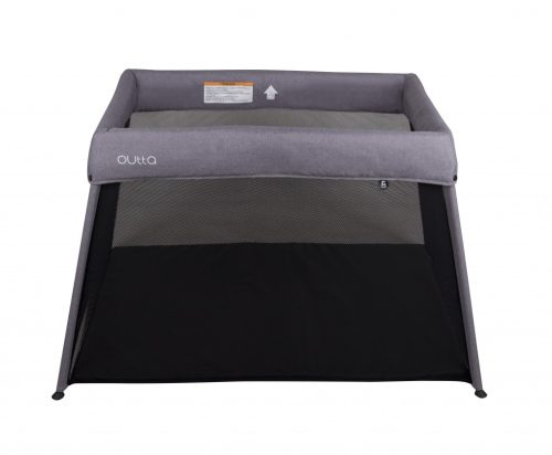 Childcare Outta Travel Cot Moon Mist(front)