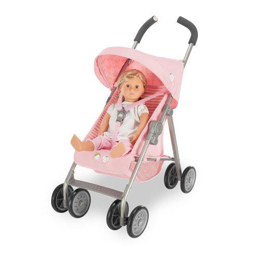 Maclaren Junior Xt Mac La Reine Pink Dolls Pram Lifestyle 2