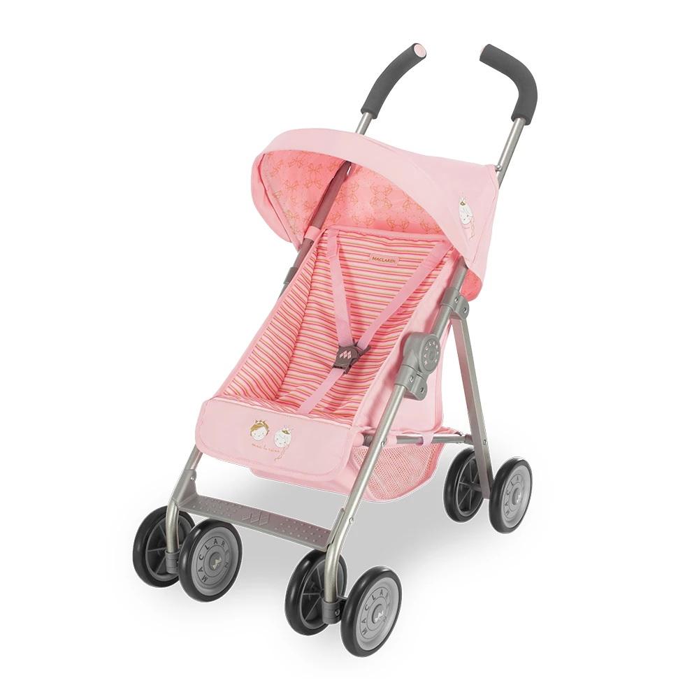 Maclaren Junior Xt Mac La Reine Pink Dolls Pram