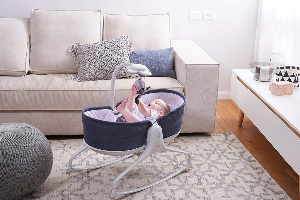 Tiny Love 3 In 1 Rocker Napper Denim Lifestyle