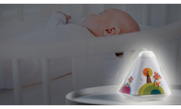Tiny Dreamer 3 In 1 Musical Projector Next To Bed