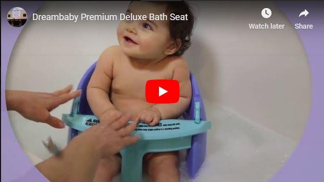 Dreambaby Premium Deluxe Bath Seat Video
