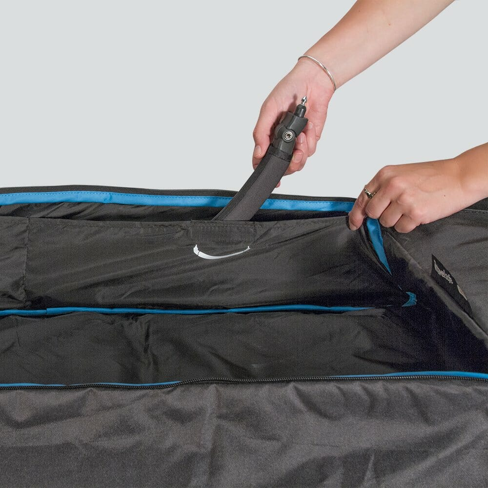 Uppababy Bassinet Rumble Seat Travel Bag In Use