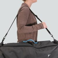 Uppababy Bassinet Rumble Seat Travel Bag Lifestyle