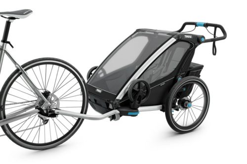 Thule Chariot Sport2 Attached To Bike