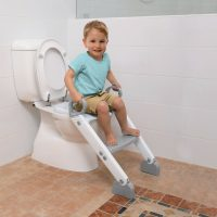Dreambaby Step Up Toilet Topper Grey White 2
