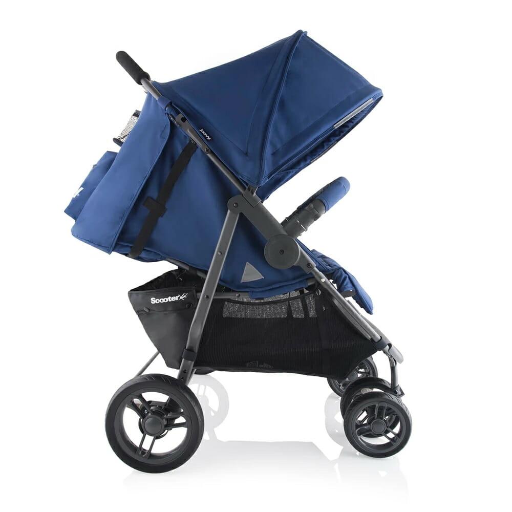 Joovy Scooterx2 Stroller Blueberry Side