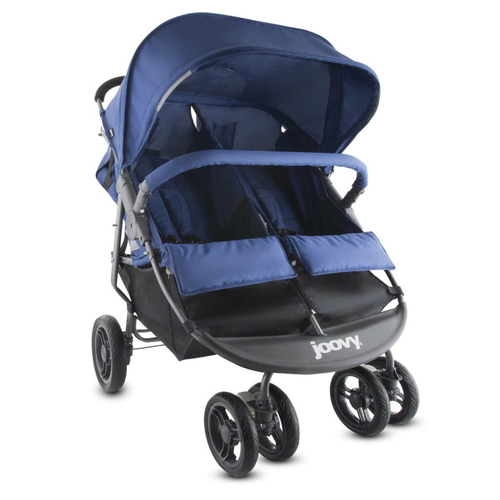 Joovy Scooterx2 Stroller Blueberry