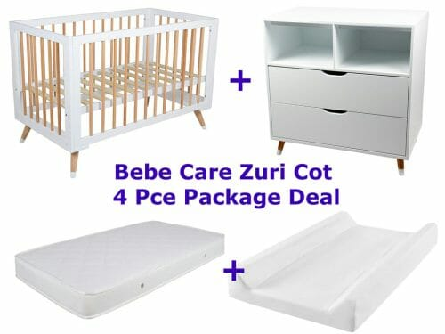 Bebe Care Zuri Cot 4 Pce Package Deal