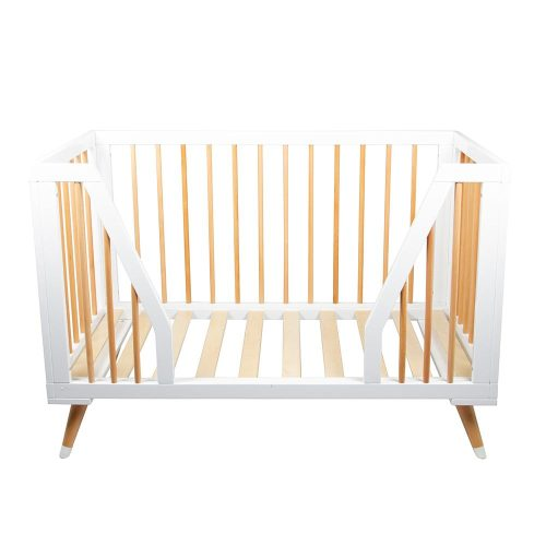 Bebe Care Zuri Cot Toddler Bed Mode Front