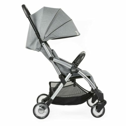 Chicco Goody Stroller Cool Grey Side Hood Down