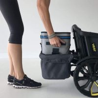 Veer Foldable Rear Storage Basket Lifestyle Side