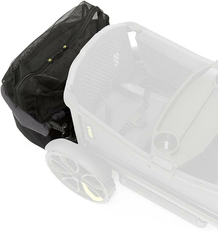 Veer Foldable Rear Storage Basket Top Angle