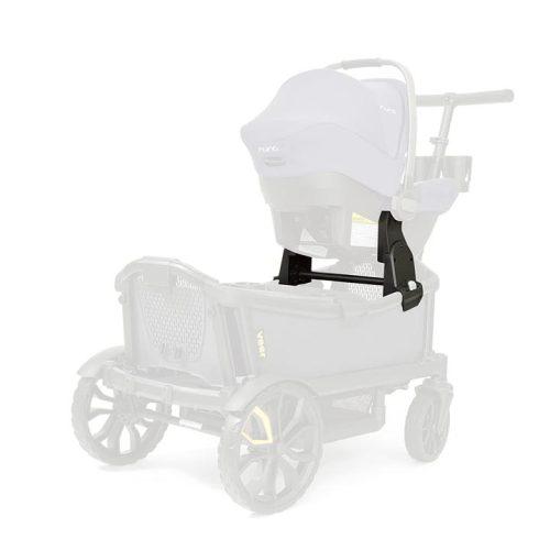 Veer Infant Car Seat Adaptors Installed