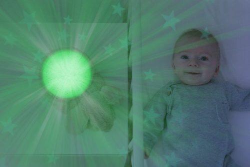 Zazu Star Projector Ruby The Rabbit Lifestyle Green Light