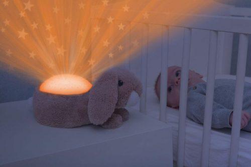 Zazu Star Projector Ruby The Rabbit Lifestyle Orange Light