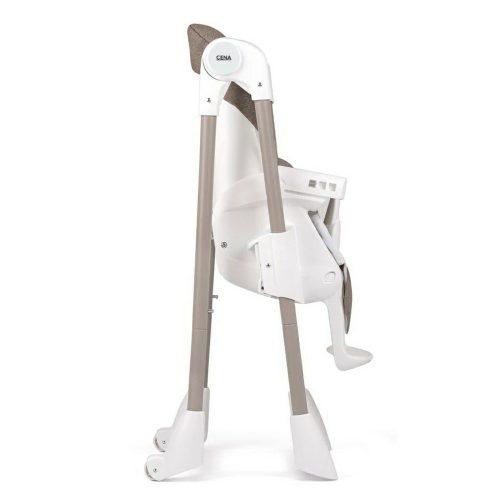 Anstel Cena High Chair Beige Folded