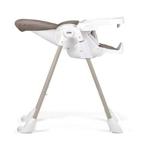 Anstel Cena High Chair Beige Recline