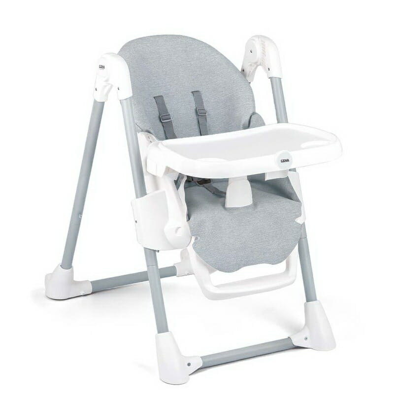 Anstel Cena High Chair Grey Functions Low