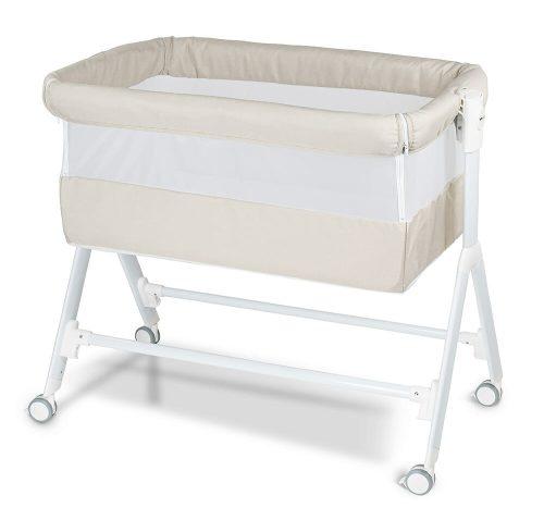 Babyrest Aria Bedside Bassinet Beige