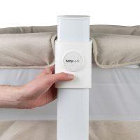 Babyrest Aria Bedside Bassinet Height Adjustable