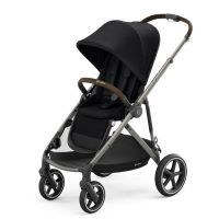 Cybex Gazelle S Deep Black Forward Facing Angle