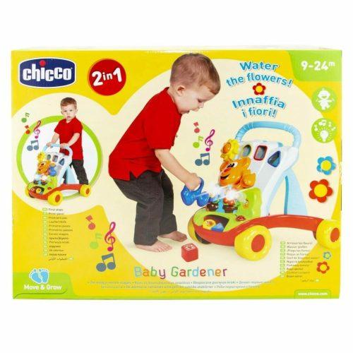 Chicco 2 In 1 Baby Gardener Walker Packaging Rear