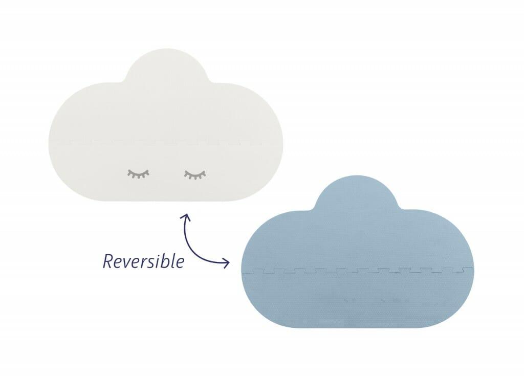 Quut Playmat L Blue 05 Reversible