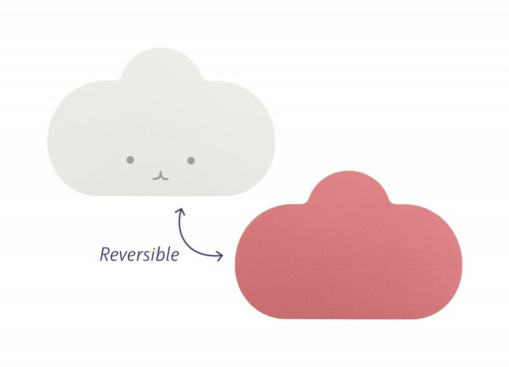 Quut Playmat S Pink 04 Reversible
