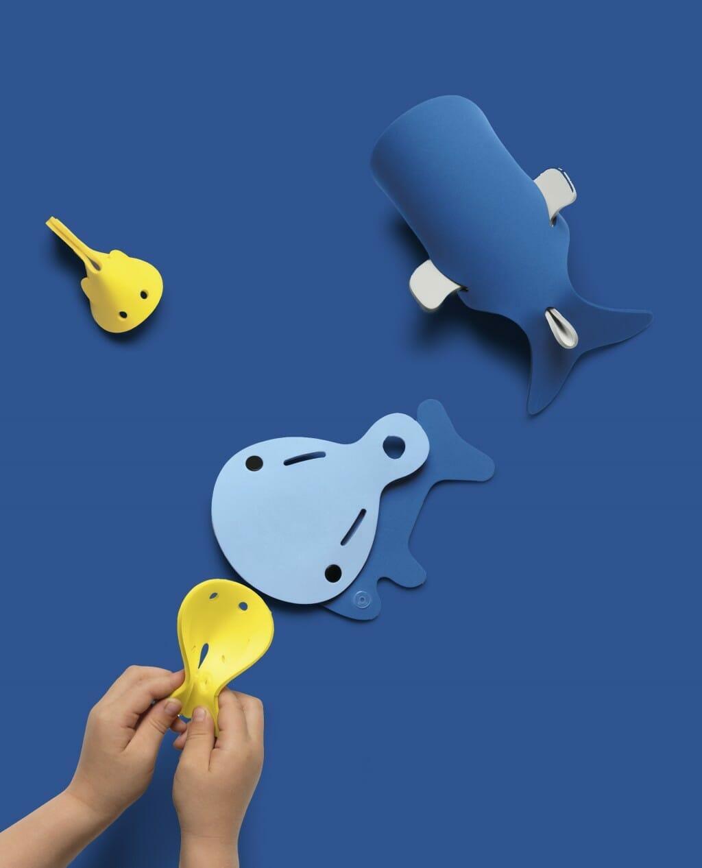 Quutopia Deep Sea Whales 05 Blue