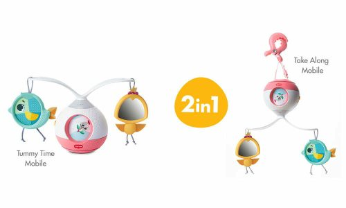 Tiny Love Princess Tales Tummy Time Mobile Entertainer Modes