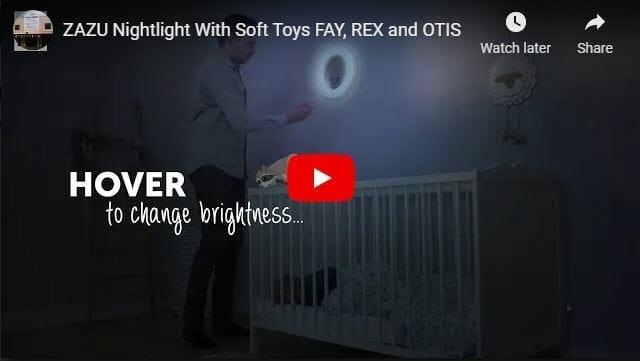Zazu Wall Light With Plush Soft Toys Video