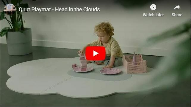 Quut Playmat Head In The Clouds Video