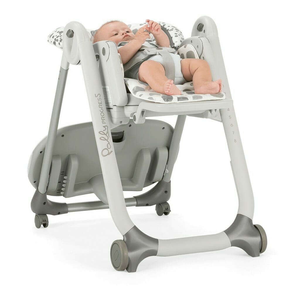 Chicco Polly Progres5 Highchair Anthracite Lifestyle 4