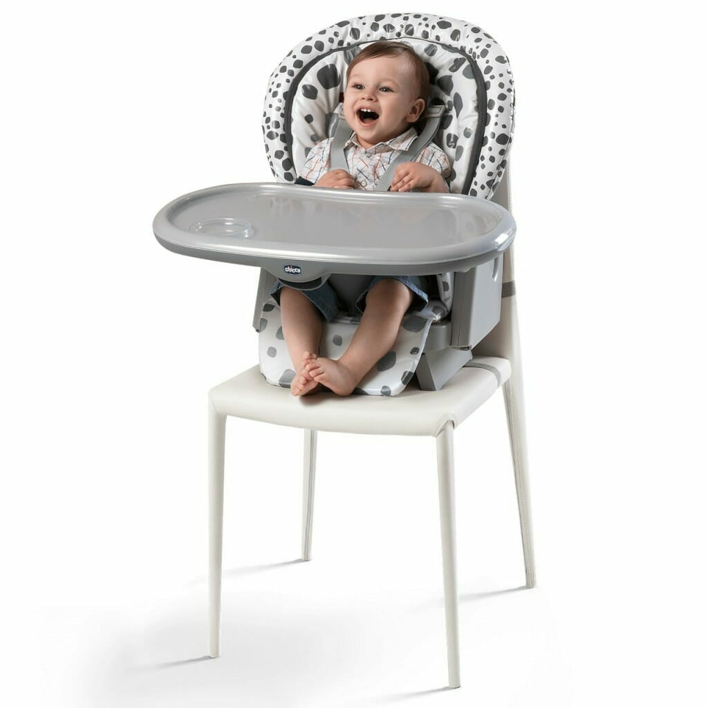 Chicco Polly Progres5 Highchair Anthracite Lifestyle 5