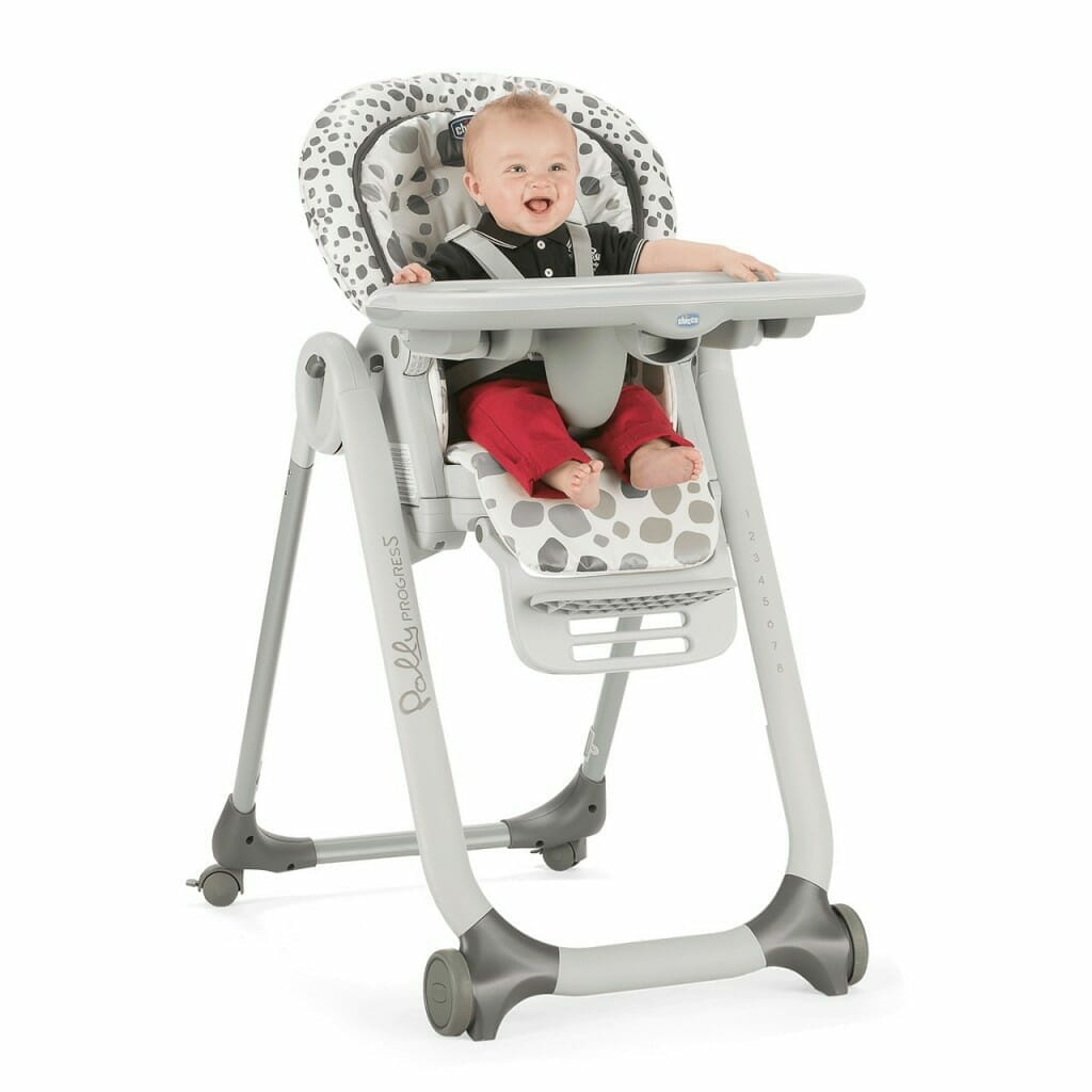 Chicco Polly Progres5 Highchair Anthracite Lifestyle 6