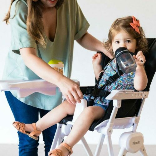 Joovy Nook High Chair Lifestyle With Child