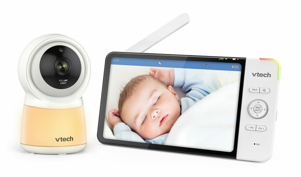 Vtech Rm7754hd 7 Inch Smart Wi Fi Hd Video Monitor With Remote Access