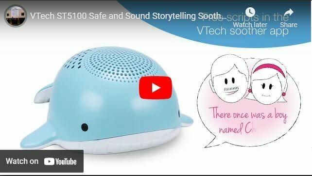 Vtech St5100 Safe And Sound Storytelling Soother