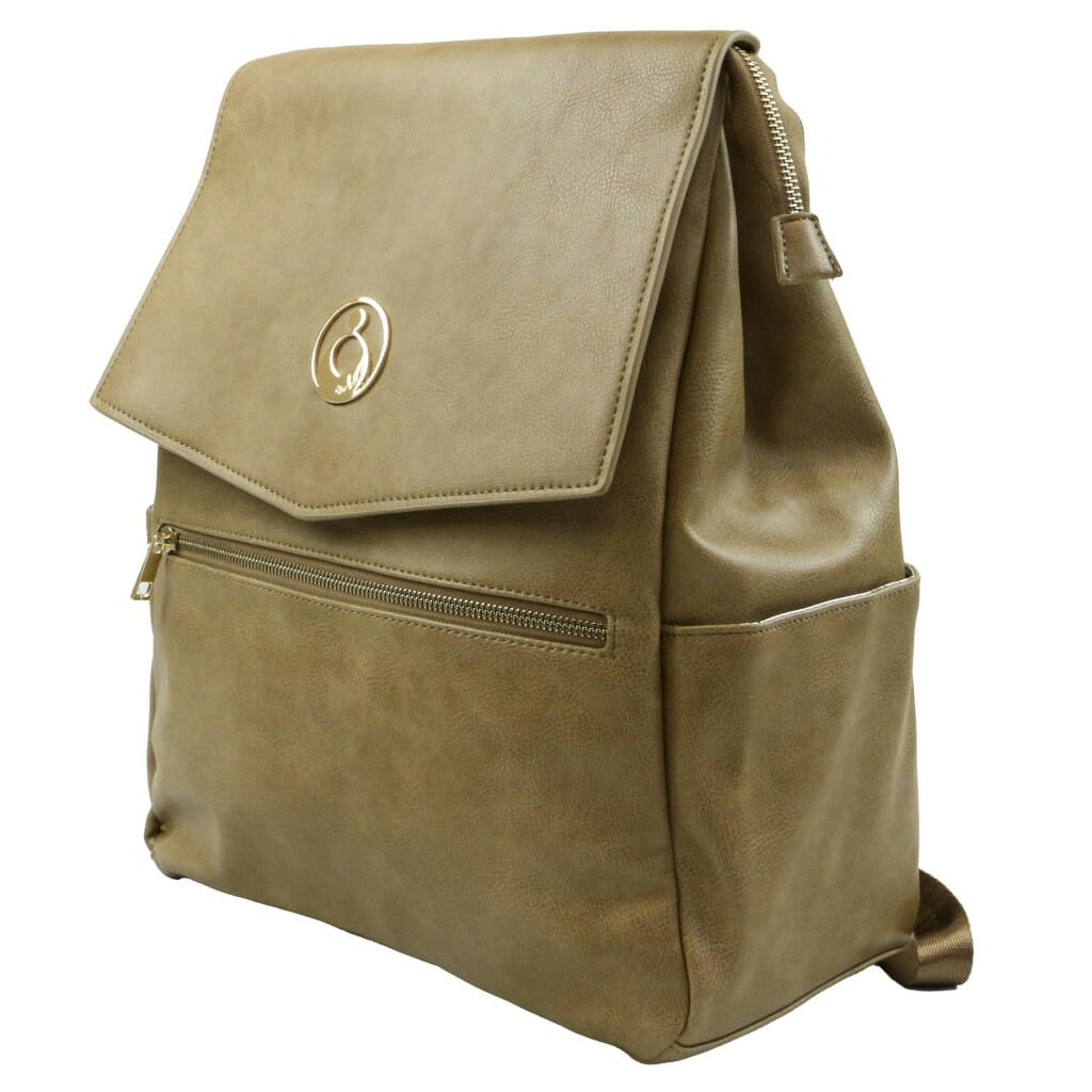Isoki Hartley Backpack Latte Angle