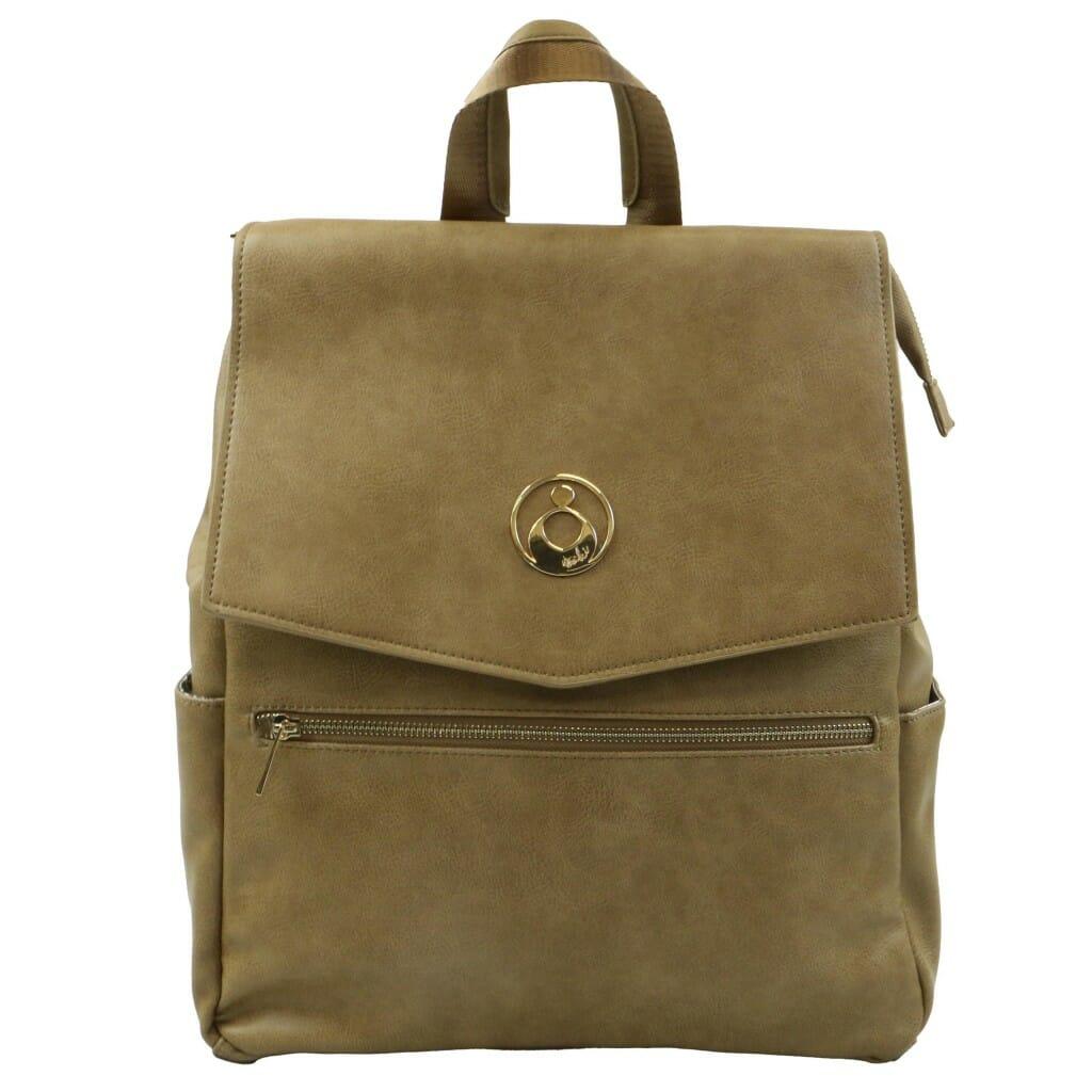 Isoki Hartley Backpack Latte Front