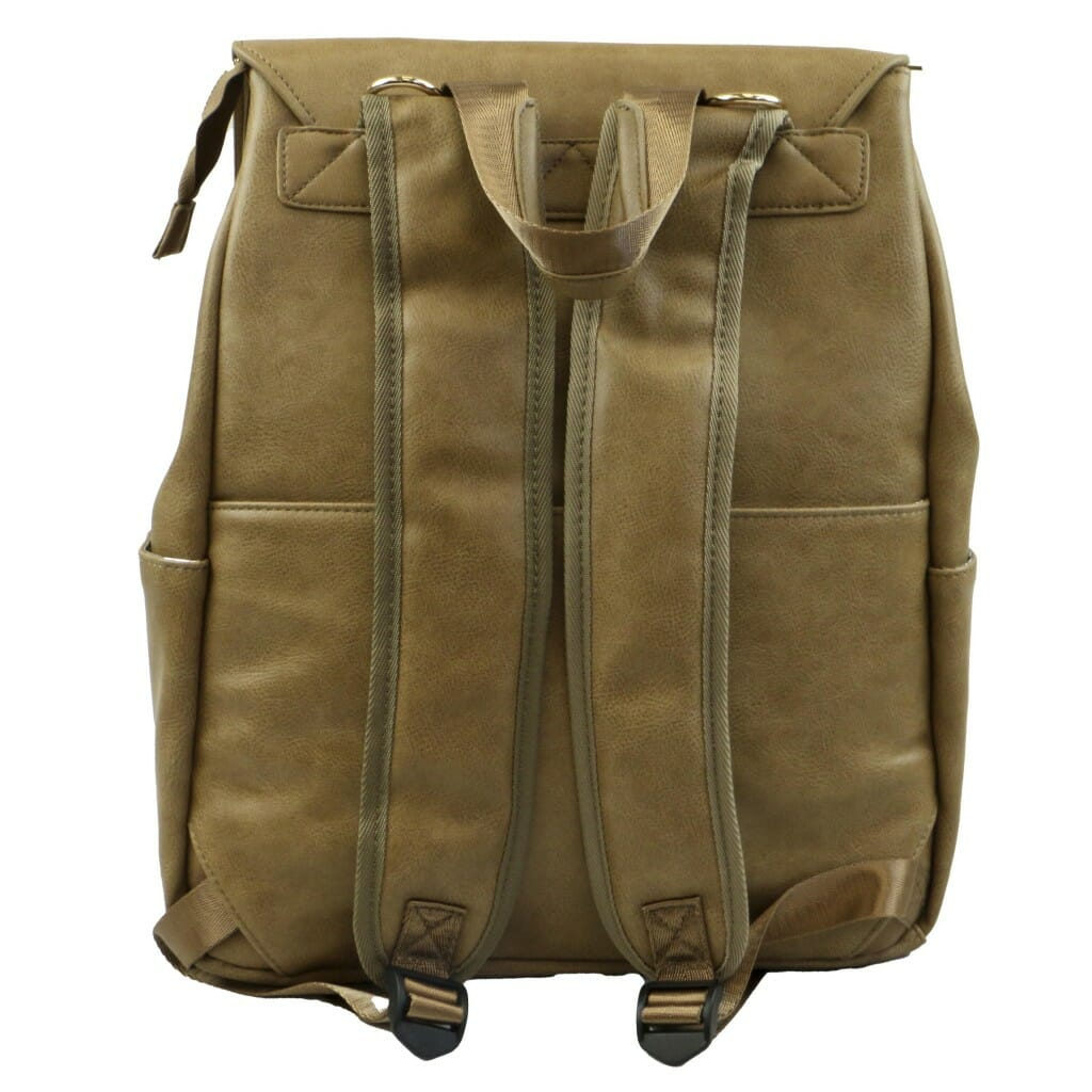 Isoki Hartley Backpack Latte Rear