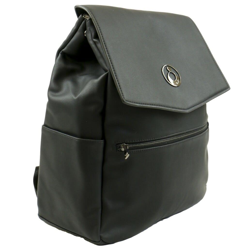 Isoki Hartley Backpack Onyx Angle Other Side