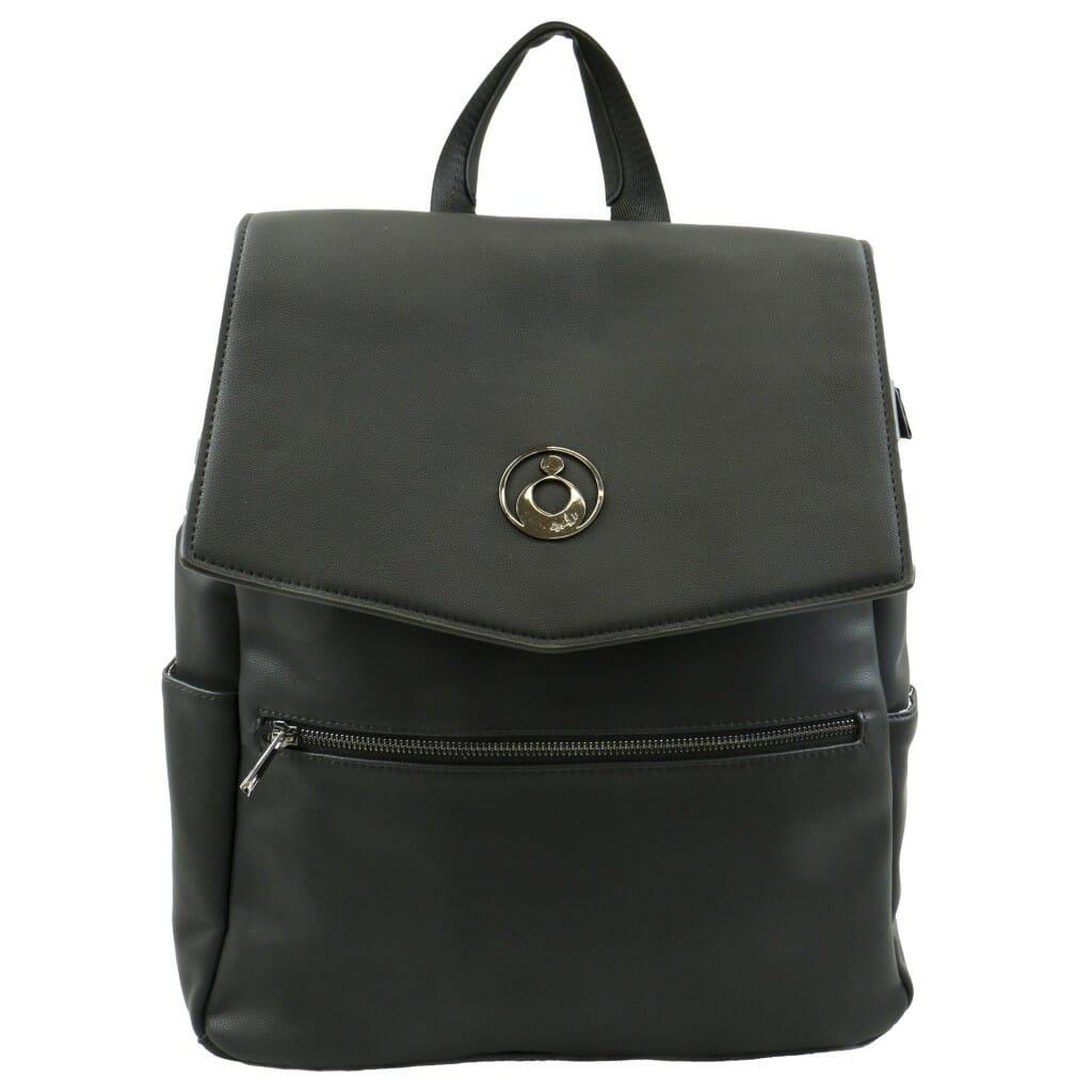 Isoki Hartley Backpack Onyx Front